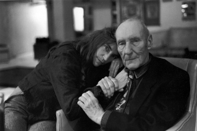 Patti Smith e William Borroughs