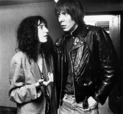 "Patti Smith e Fred ""Sonic"" Smith"
