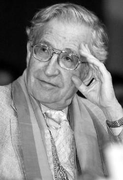 O linguista Noam Chomsky