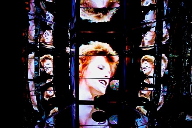 Exposição de David Bowie no MIS. Foto por Claudia Porto