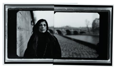 Susan Sontag em Paris, por Leibovitz