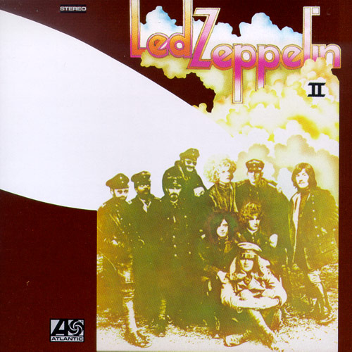 Capa de Led Zeppelin II